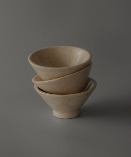 Marble stone bowl