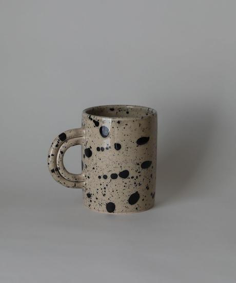 Large speckled mug