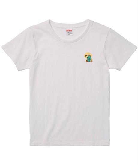 B刺繍ガールズTシャツ