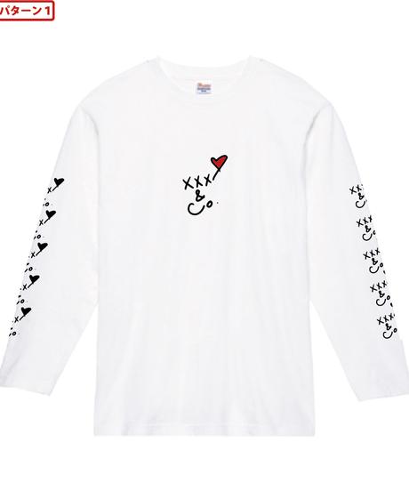 Loveフロントオーダーカラー (袖デザインあり)