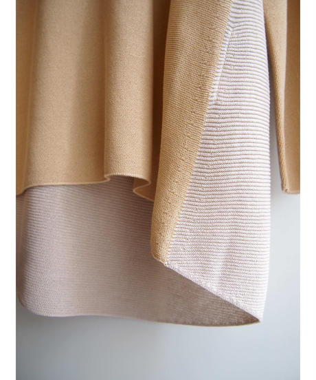 【日本製】バイカラードルマンVプルオーバー ( Whole Garment Knit )