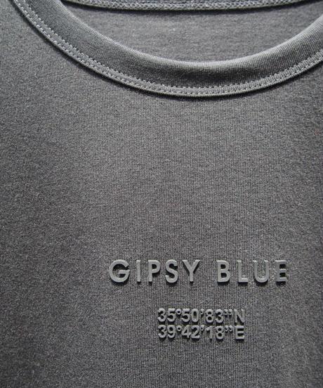 """シリコン""""GIPSY BLUE""""プリント半袖T"""