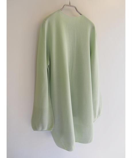 【日本製】ガーター編バルーンカーディガン ( Whole Garment Knit )