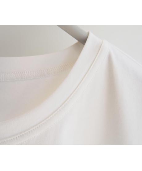 スムース【 RIEMEI 】ビジュー刺繍Tシャツ