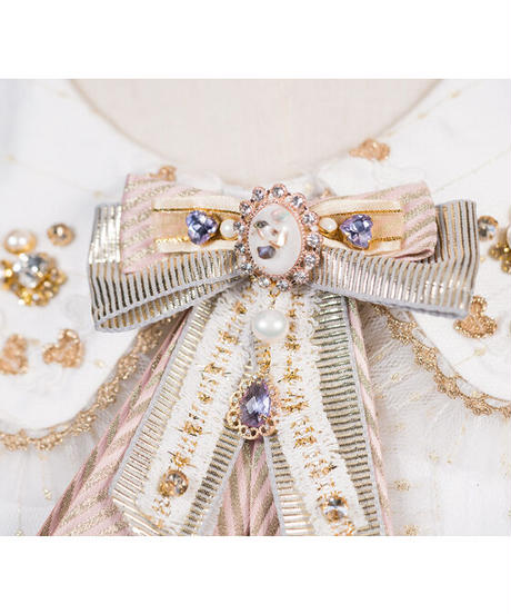 「Fragrance Girl」ベレー帽 / リボン飾り ※お洋服と合わせ買いの方のみ※【2/20まで】