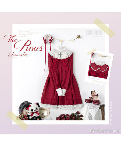 「The Pious」カチューシャ ※お洋服と合わせ買いの方のみ※【6/13まで】