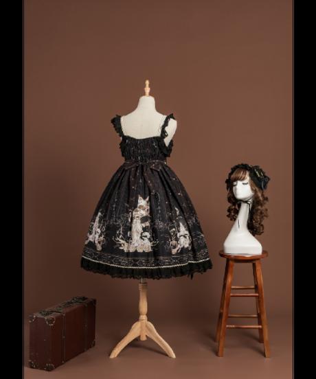 「重逢世界」ジャンパースカート&ヘッドドレス セット