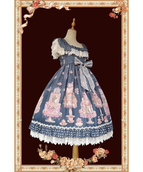 「Cake Salon」ジャンパースカート