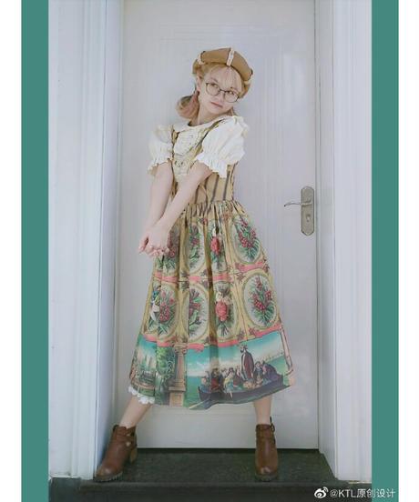「Spring」ジャンパースカート