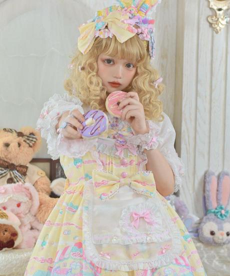 「Rainbow Doll House」お袖とめ(ペア)※お洋服と合わせ買いの方のみ※【11/28まで】