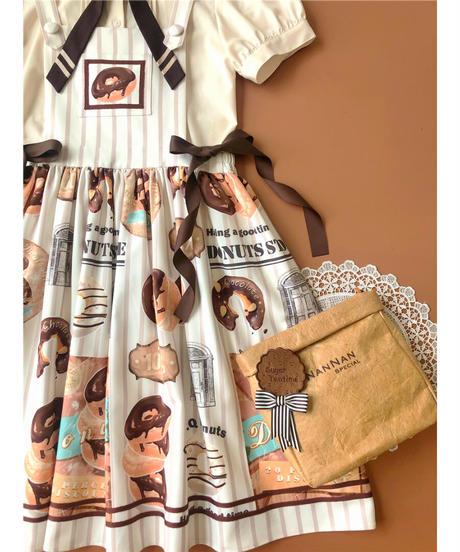 「Doughnut」ジャンパースカート