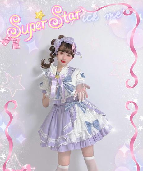 「Tomorrow Star」ショート丈スカート ※トップスと同時購入限定!※【6/18まで】