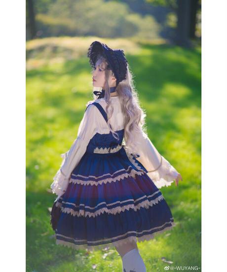 【現品販売】「Triple Cake Tree」ジャンパースカート