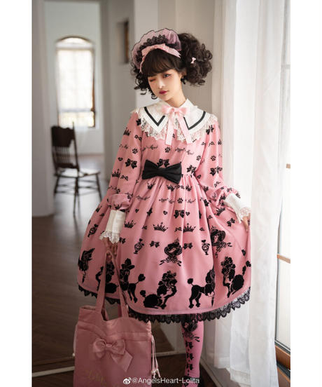 「Cute Poodle」カチューシャ ※お洋服と合わせ買いの方のみ※【5/20まで】