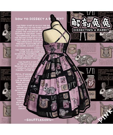 「解剖兎」ジャンパースカート