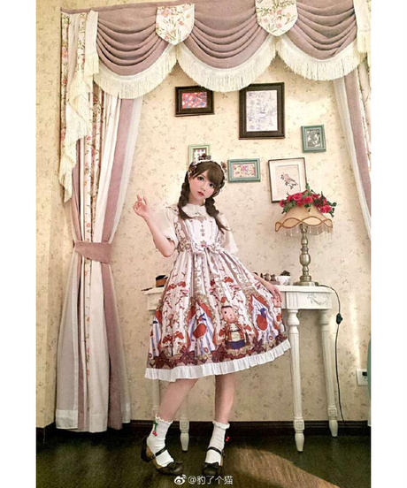 「糖梅仙子」ジャンパースカート