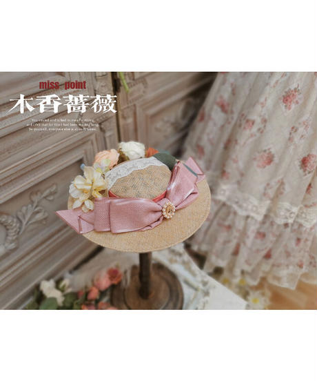 「The Beauty of Spring」ミニハット ※お洋服と合わせ買いの方のみ※【6/28まで】