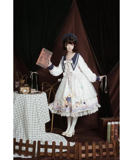「蝶恋粉飛」ワンピース