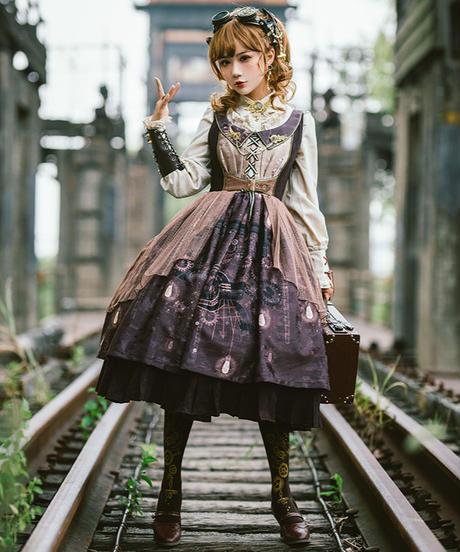 「機巧地球」ジャンパースカート【8/16まで】