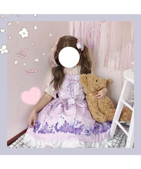 「Rabbit's Dreamland」ジャンパースカート