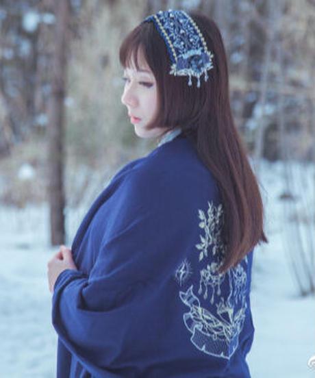 「金銀双樹」ショール ※お洋服と合わせ買いの方のみ※【11/27まで】
