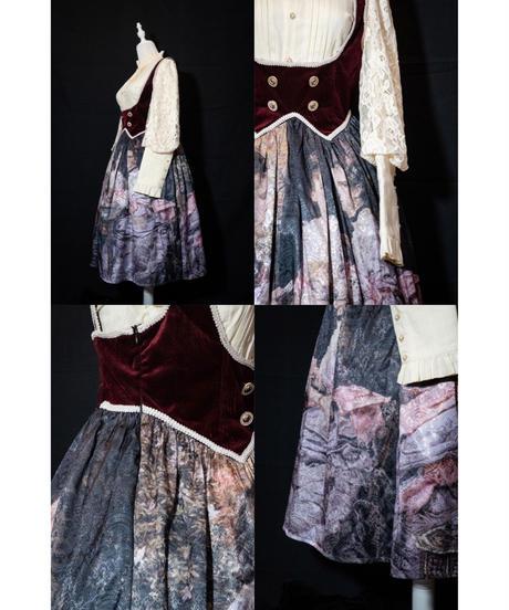 【現品販売】「ハートは切り札」ジャンパースカート