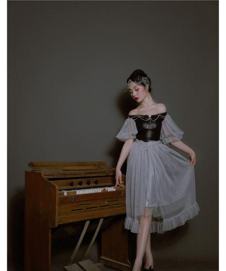 【現品販売】「Gray Swan」カチューシャ ※お洋服と合わせ買いの方のみ※
