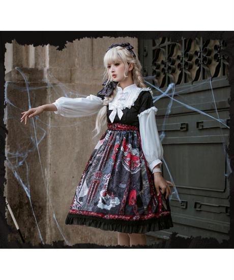 【現品販売】「魔女の形」ワンピース