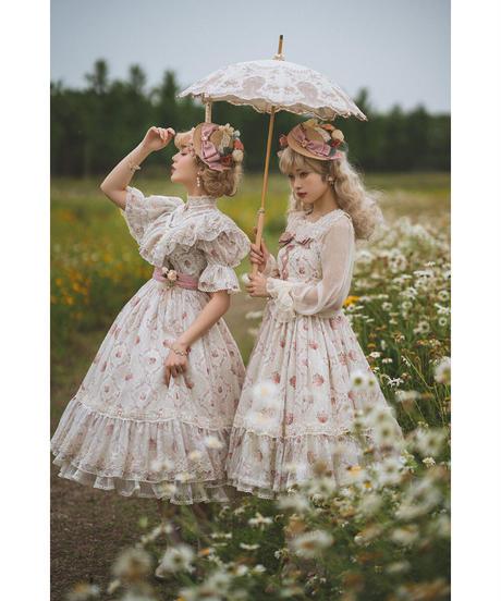 「The Beauty of Spring」ジャンパースカート【6/28まで】