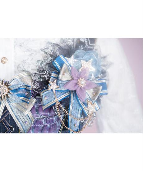 「仰望星空」バレッタ(1個)※お洋服と合わせ買いの方のみ※【5/15まで】