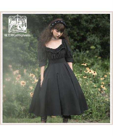 「Carroll Manor」ワンピース&ヘッドドレス セット