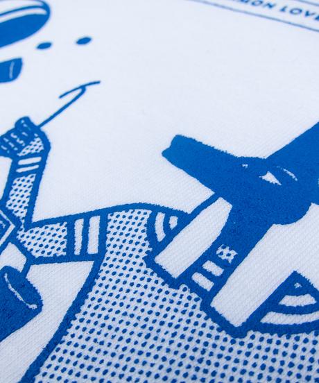 バックギャモンイラストTシャツ(過去と未来)