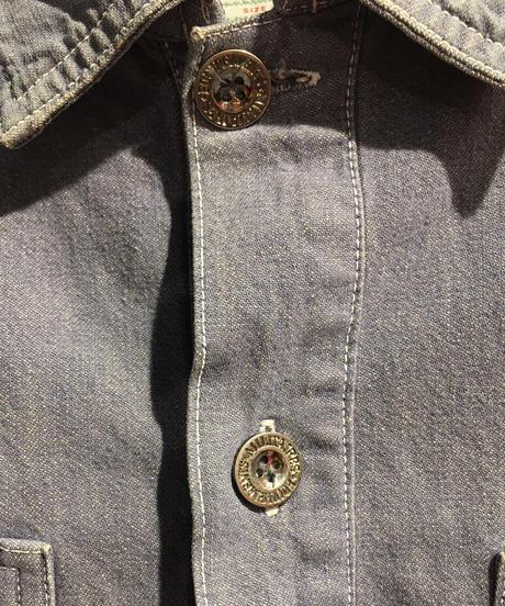 【USED 古着】90's JHON BULL プルオーバー デニム ジャケット used201210-8
