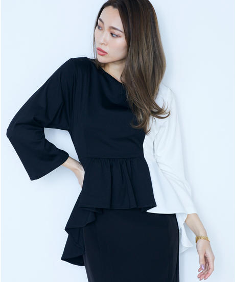 Tail Long Twinkling Blouse