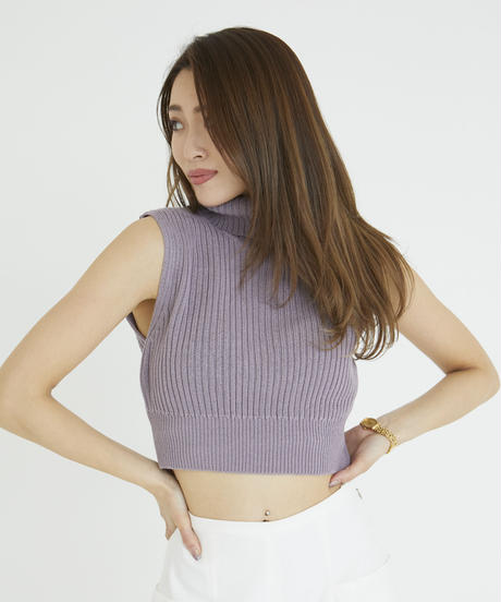 Grace Neck Knit TOP