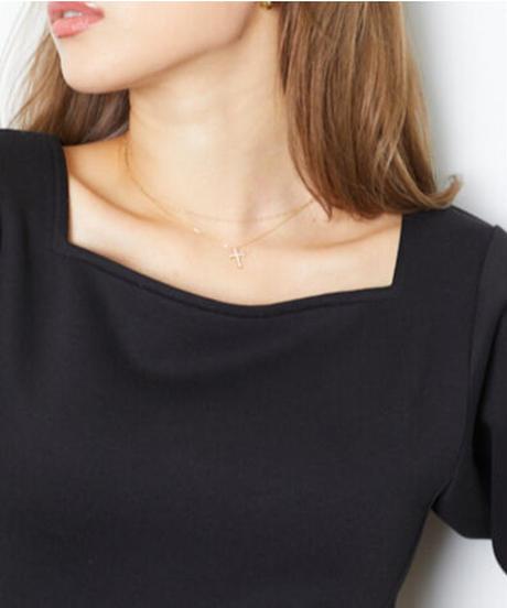 【数量限定再入荷】Gold Cros necklace