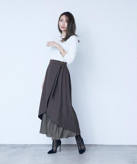 3way design skirt<BLACK>