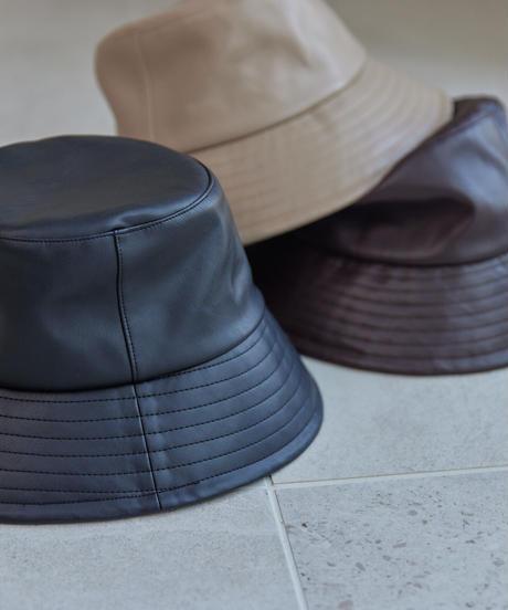 Leather Bucket Hat