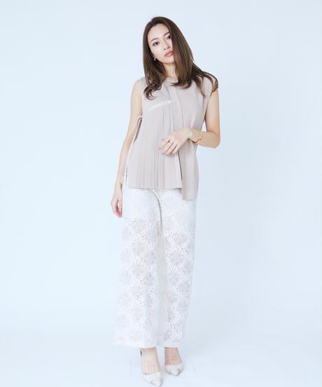 Twinkling Pleats Knit TOP