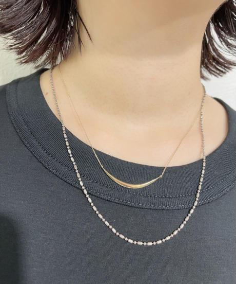 Stick bar necklace