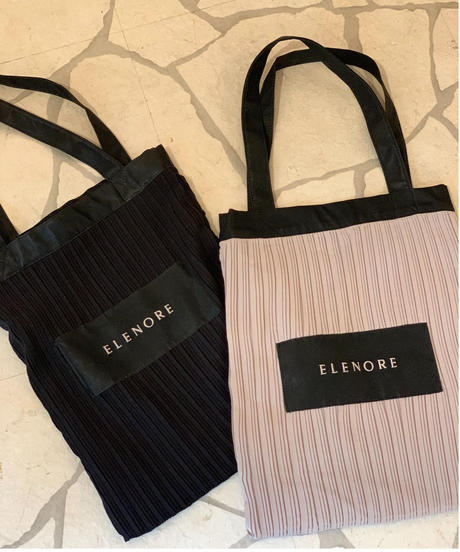 Pleats tote BAG
