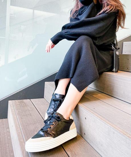 EL sneaker【BLACK】
