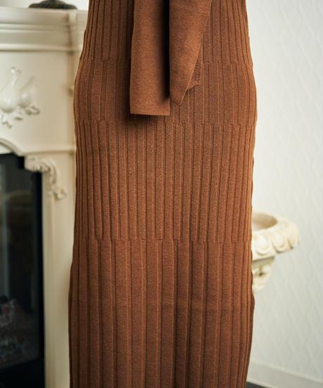 Bind rib knit OP