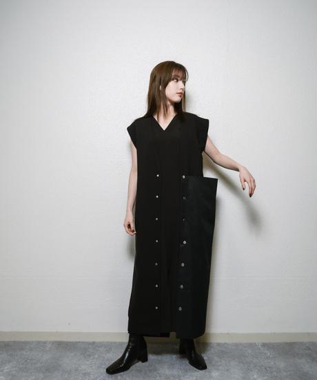 British Long tailor gilet BLK.