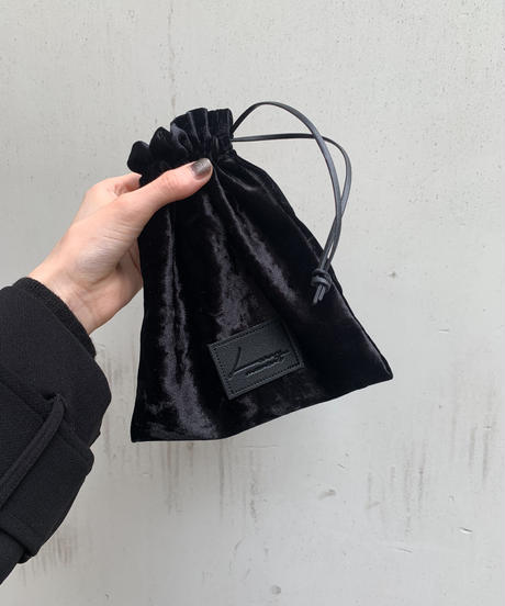 Velor purse