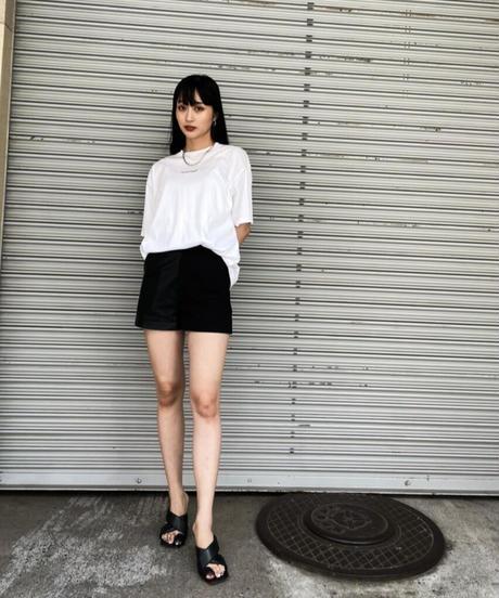 【UNISEX】FRONT LOGO TEE / WHITE