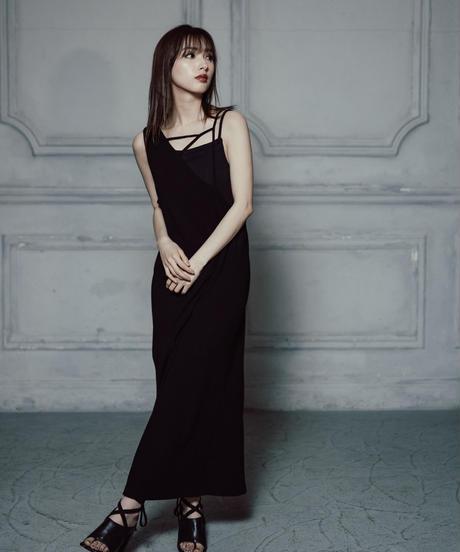 Design camisole OP / BLACK