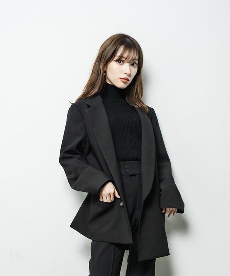 【即納】garçon Asymmetry Jacket / Noir