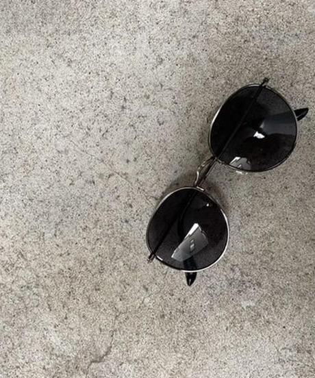Thin frame wide sunglasses