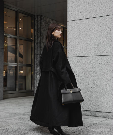 Long Gown Flare Coat